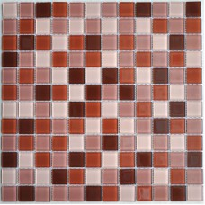 Crystal Glass Mosaic Tile Sheet  Wall Stickers Kitchen Backsplash Tile Cheap Floor Stickers Design Bathroom Shower Pool 10064