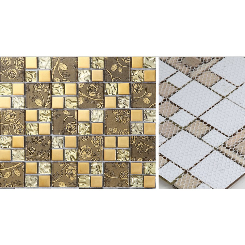 decorative kitchen wall tiles. Exellent Kitchen Gold Crystal Glass Mosaic Tile Hand Painted Plated Wall  Backsplashes Decorative Kitchen Tiles SBLT117 Intended Decorative Kitchen Wall Tiles