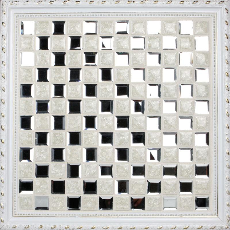 Porcelain floor tile mirror mosaic tile sheets bathroom for Mosaica carrelage