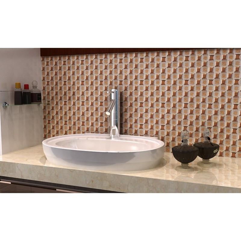 Amazing ... Brown Glass Mosaic Mirror Tiles Backsplash Designs Bathroom Pyramid  Patterns Mirrored Mosaic Tile Sheets MGT1802 Part 31