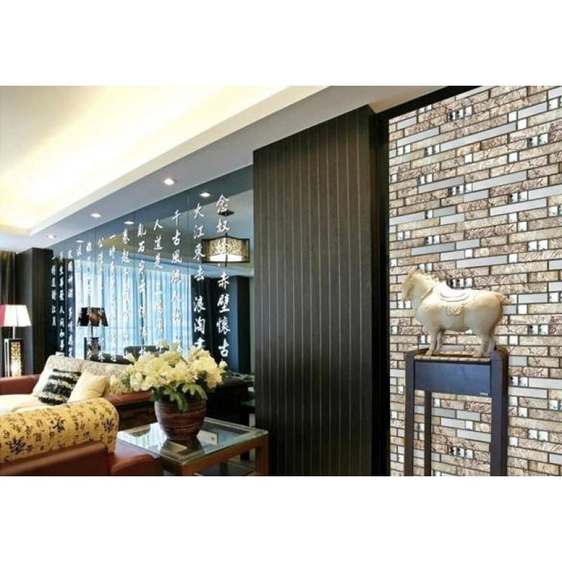 steel tiles kitchen backsplash diamond crystal glass metal mosaics ...