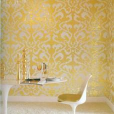 Golden Glass Mosaic Tiles Pattern for Wall Decorative Tiles Cream White Crystal Glass Tile Bathroom Wall Backsplash 21308