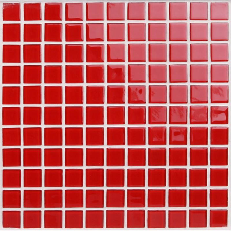 Red Glass Backsplash Tile Kitchen Mosaic Art Designs 3019 Crystal