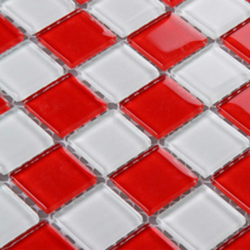 High Quality Red Glass Backsplash Tile Kitchen Mosaic Designs 3031 White Crystal Glass Bathroom  Wall Tiles Liner Floor Tiles ... Design
