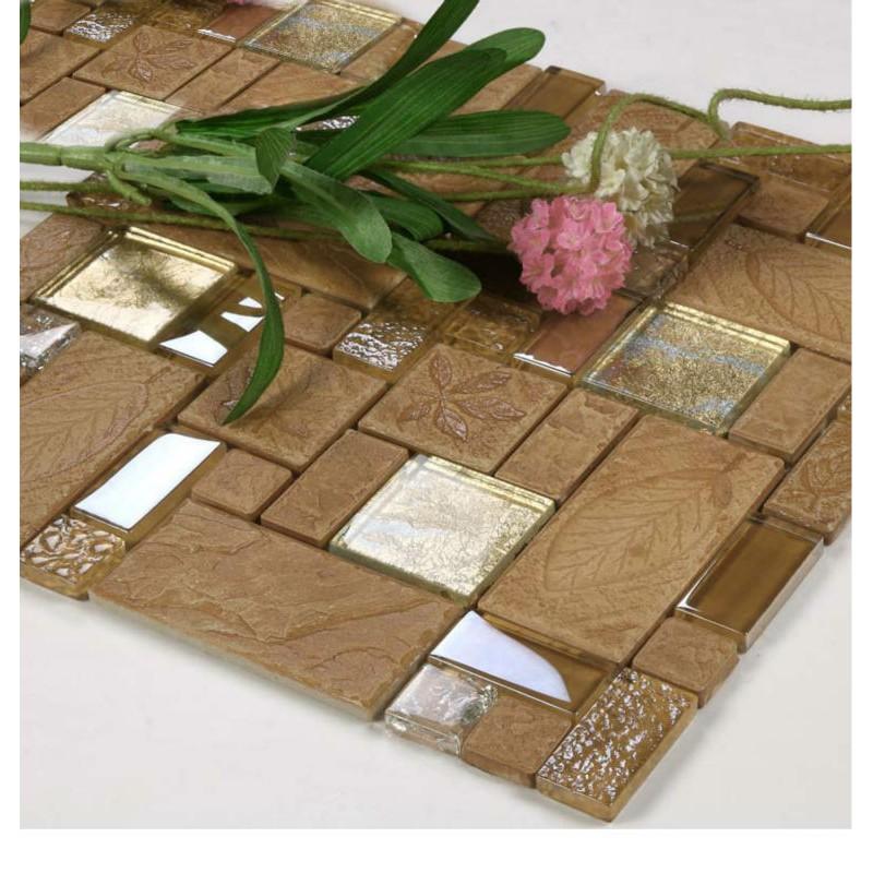 mosaic decorative tile glass backsplash kitchen mosaic ceramic tiles