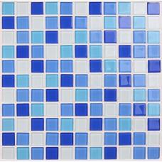 Glass mosaic tile backsplash blue Crystal glass tile Kitchen backsplashes 3316 Bathroom wall tiles Mosaic glass pool tiles floor