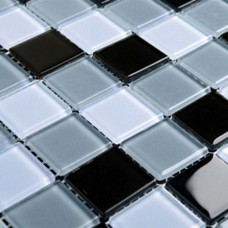 Crystal Glass Mosaic Sheet  Wall Stickers Kitchen Backsplash Tile Design Bathroom Shower Pool 3336