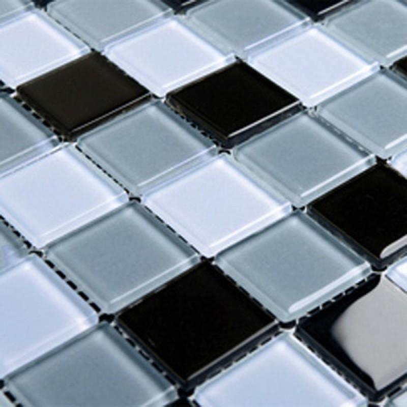 Crystal Glass Mosaic Sheet Wall Stickers Kitchen Backsplash Tile Design  Bathroom Shower Pool 3336