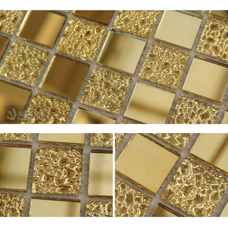 Crystal Glass Tiles Sheet Diamond Mosaic Art Wall Sticker Kitchen ...