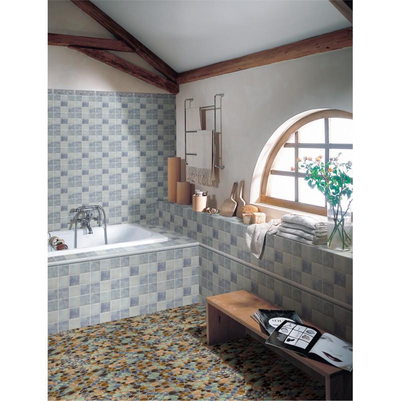 ... Porcelain Pebble Tile Backsplash Heart Shaped Ceramic Tile Stickers  Kitchen And Bathroom Mosaic Tiles 4789