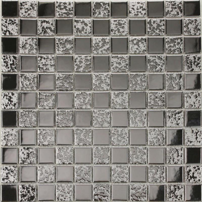 Porcelain Floor Tile Sheets Plating Slip Mosaic Art Bathroom Wall
