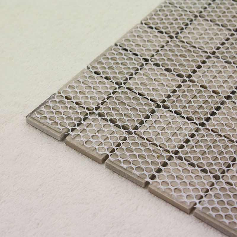 Porcelain Floor Tile Sheets Plating Slip Mosaic Art Bathroom Wall Mirror Tiles Backsplash