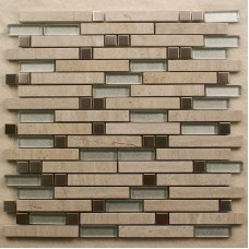 Stone mosaic tile stainless steel tiles kitchen backsplash interlocking metal glass tile 9812 metallic floor tiles wall stickers