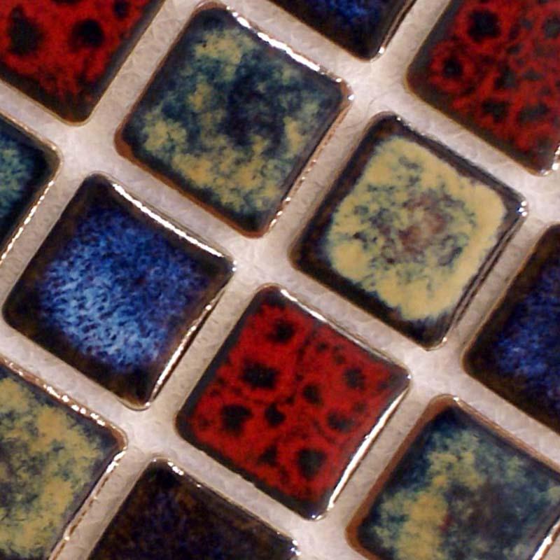 ... Italian Porcelain Tile Backsplash Kitchen Wall Decor Glazed Ceramic  Bath Mosaic Tiling Sheets Of Tiles On