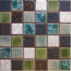 Glazed porcelain mosaic tile sheets cheap ceramic tile flooring swimming pool brick kitchen floor tiles bathrooms mosaic designs GPT56