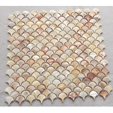 natural pink shell tile backsplash mother of pearl mosaic tiles unique design fish scale bathroom showers kitchen backsplash wall tiles ST111