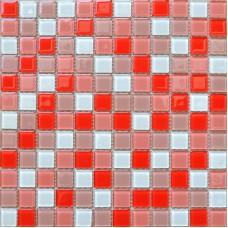 Crystal Glass Mosaic Tile Sheet  Wall Stickers Kitchen Backsplash Tile Cheap Floor Stickers Design Bathroom Shower Pool AH229