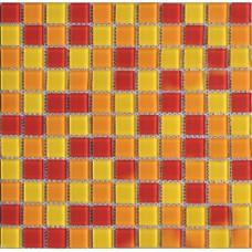 Crystal Glass Mosaic Tile Sheet Wall Stickers Backsplash Tile Floor Stickers Design Washroom Shower Pool Swimming Tile AH303
