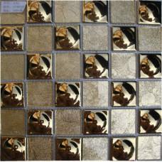 Porcelain Floor Tile Sheets Plating Slip Mosaic Mirror Bathroom Wall  Backsplash Stickers Kitchen Design Pool Border AT48F33