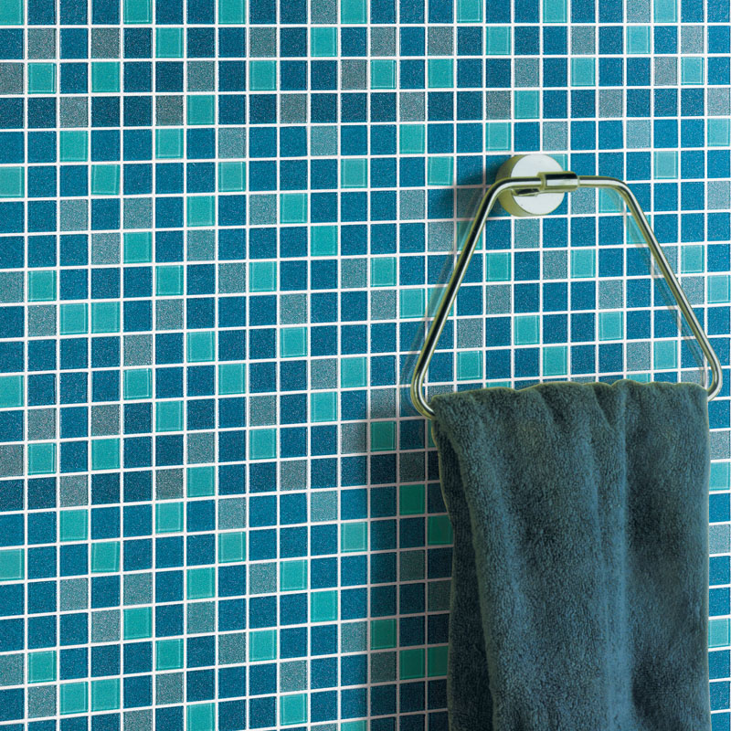 Sea Glass Tile Backsplash Ideas Bathroom Mosaic Mirror Sheets