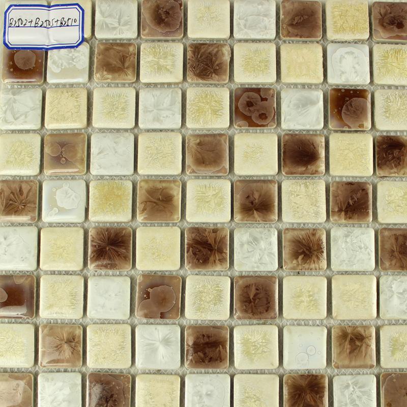 porcelain tile mosaic glazed ceramic tiles bathroom wall