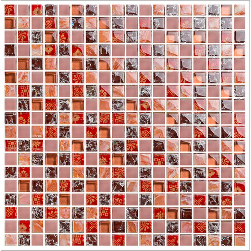 crackle glass tile backsplash ideas bathroom decorative wall stone interior bathtub wall decor red crystal marble - Floor And Decor Backsplash