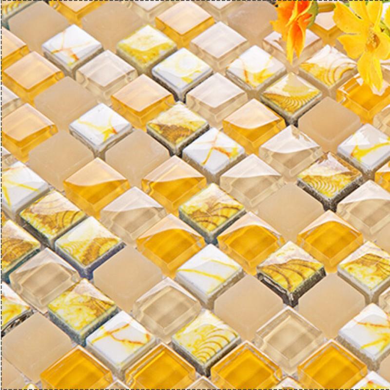 frosted glass backsplash in kitchen mosaic tile designs bright yellow kitchen brown tile backsplash maybe yellow