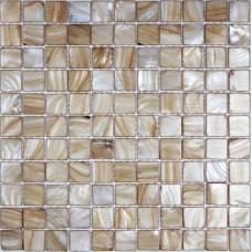 Shell Tile Mosaic Art Bathroom Wall Stickers Fresh Water Mother of Pearl Tiles Backsplash Kitchen BK014 Natural Seashell Floor