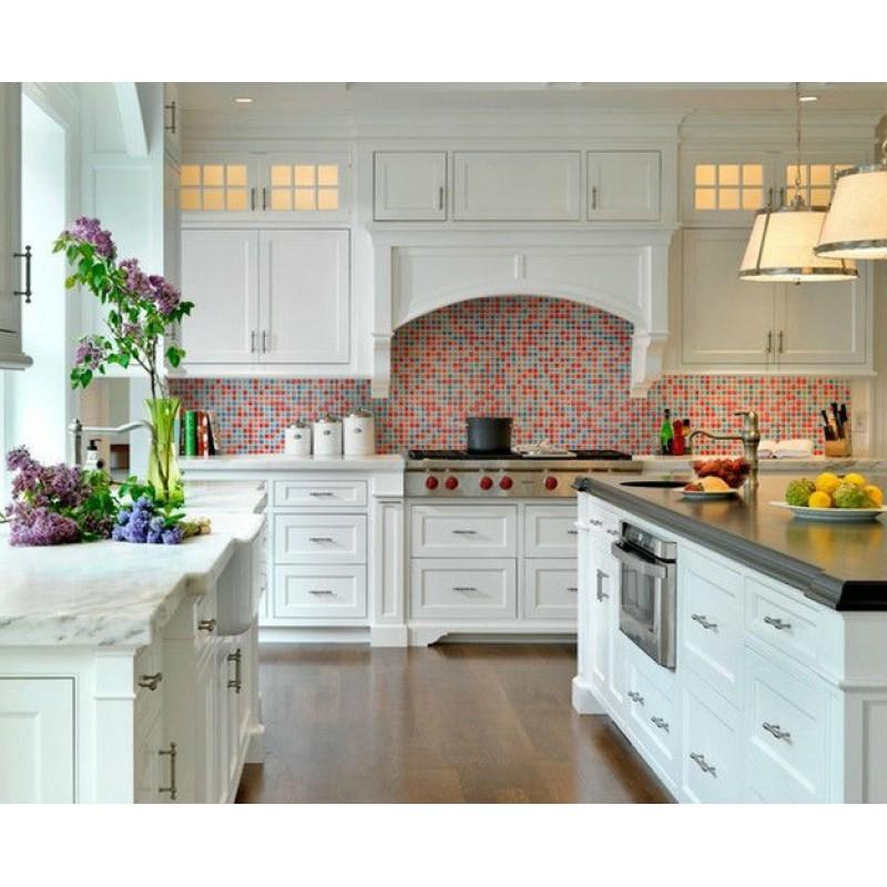 porcelain tile sheets mosaic designs art kitchen