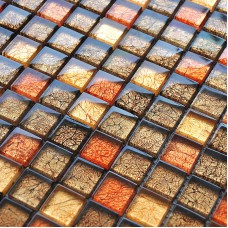 Glass Mosaic Tile sheets Crystal Glass Tile brick Kitchen Backsplash Tiles Mosaic Glass designs Bathroom Wall stickers CB034