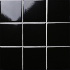 black SHINY porcelain tile NON-SLIP tile washroom wall tiles shower tile kitchen wall backsplashes tile pool tiles kitchen decor XMGTG01