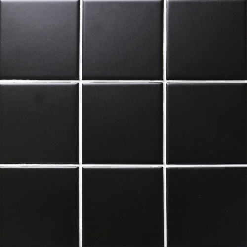 black matte porcelain tile NON-SLIP tile washroom wall tiles shower tile kitchen wall backsplashes tile pool tiles kitchen decor XMGTM01