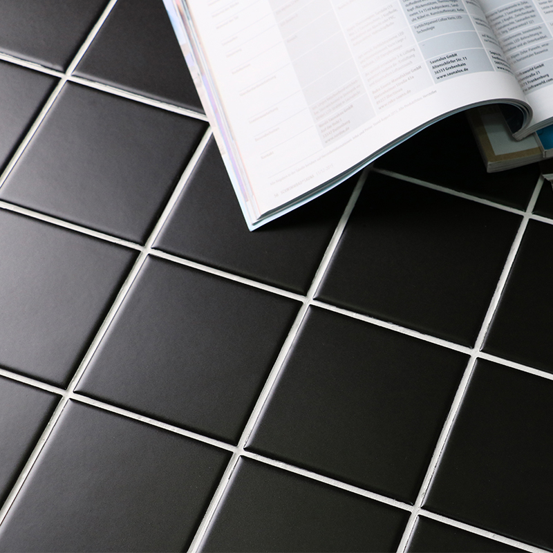 how to clean matte porcelain tiles