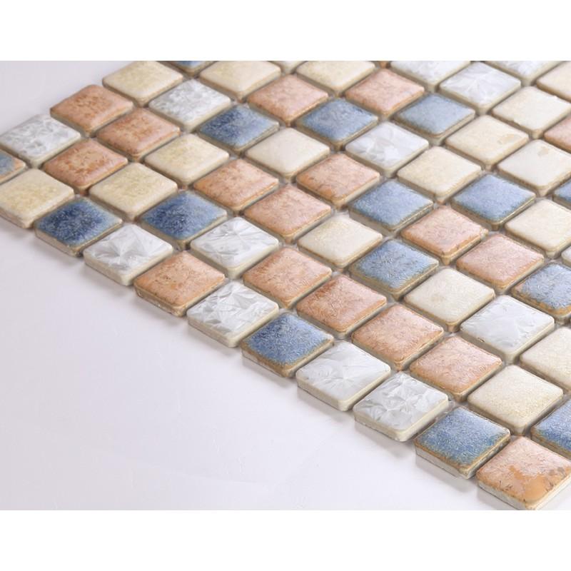 Ceramic Tile Sheets : Glazed ceramic tile backsplash bestsciaticatreatments