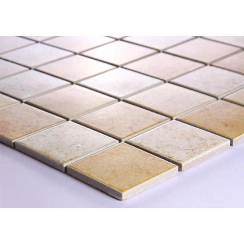 Glazed Porcelain Mosaic Tile Sheets Kitchen Backsplash Tiles Floor Mirror Dtc003 Ceramic Brick Stickers Bathroom Wall