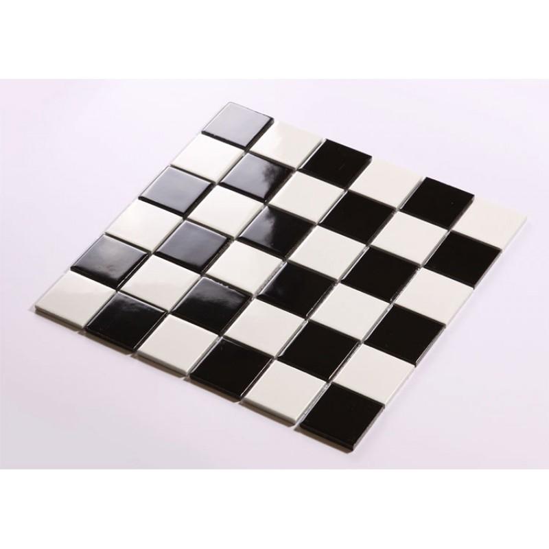 glazed porcelain mosaic tile sheets kitchen backsplash