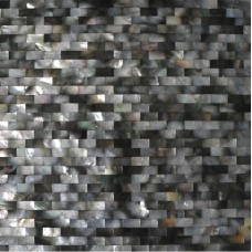 Deepwater seashell tile bathroom shower designs subway mother of pearl tiles for kitchen backsplashes natural black shell wall tiles DWS001