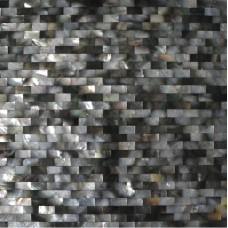 Deepwater seashell tile bathroom shower designs subway mother of pearl tiles for kitchen backsplashes natural black shell wall tiles DWS001