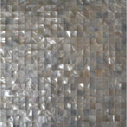 black seashell designer tiles for kitchen backsplash cheap deepwater of pearl square mosaic