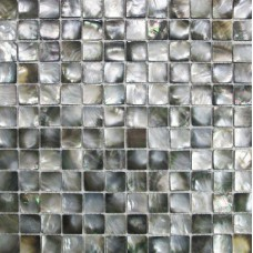 Black lip shell tile backsplash cheap  deepwater seashell mosaic flooring for kitchen and bathroom mother of pearl square natural tiles DWS004