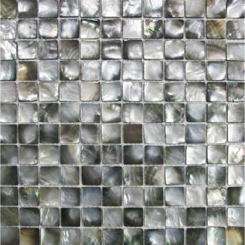 Black Lip Shell Tile Backsplash Cheap Deepwater Seashell Mosaic