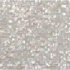 Seashell tile subway cheap backsplash tiles for kitchen and bathroom iridescent wall shell mosaic natural mother of pearl sheet DWS005