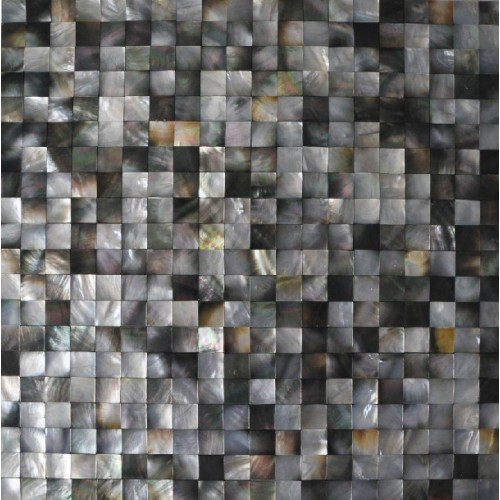 Seashell Backsplash Tile: Seashell Mosaic Seamless Mother Of Pearl Tiles For
