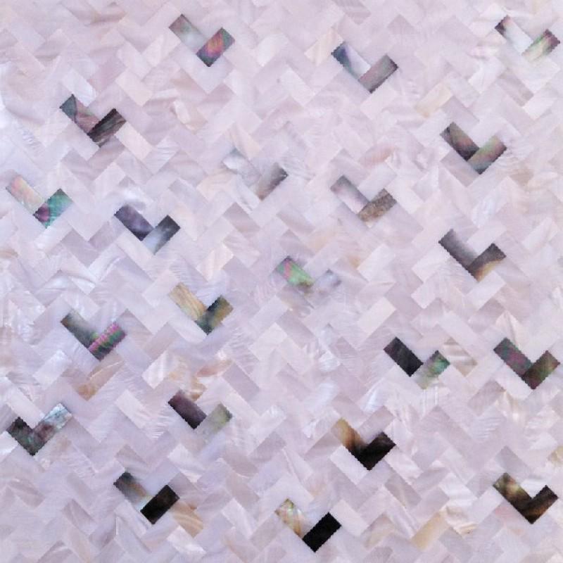 Seashell Tile Natural Kitchen Backsplash Cheap Interior Wall Tiles
