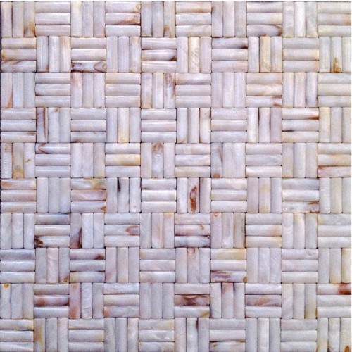 Backsplash mosaic tiles for kitchen and bathroom mother pearl arched shell tile