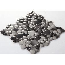glazed porcelain pebble tile mosaic sheets kitchen backsplash tiles fambe ceramic pool floor tiles FS1710 porcelain mosaics fireplace wall stickers