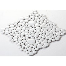 Glazed porcelain pebble tile Kitchen backsplash tiles FS1713 Ceramic floor mosaic tile Porcelain tiles fireplace wall stickers