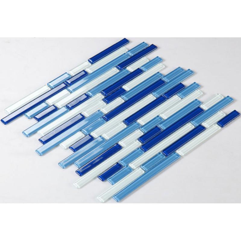 Miraculous Crystal Glass Mosaics Blue Shower Tile Mosaic Kitchen Backsplash Wall Designs G4001 Interlocking Mosaic Glass Sheet Bathroom Subway Tiles Home Interior And Landscaping Synyenasavecom