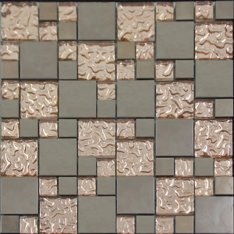 Porcelain mosaic tile decorative plated porcelain wall tiles bathroom floor gft015 ceramic - Decorative wall tiles for bathroom ...