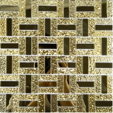 Gold glass mirror tile backsplash bathroom mirrored mosaic wall tiles kitchen backsplashes ideas GMT135